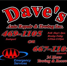 Dave's Auto Repair & Towing Inc.